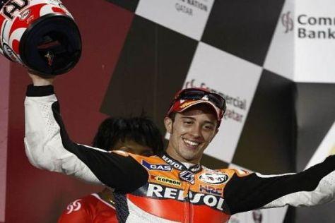 Andrea Dovizioso startete mit einem Podestplatz in das neue MotoGP-Jahr