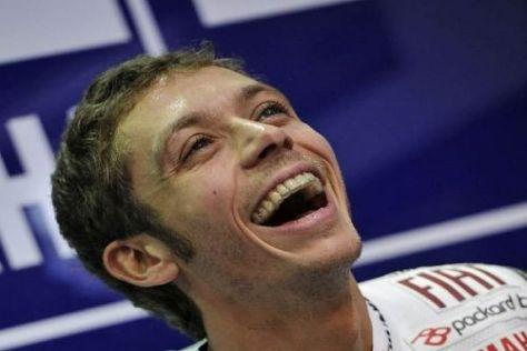 Valentino Rossi startete erstmals seit 2005 wieder mit einem SIeg in die Saison