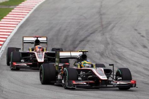 Das Dallara-Chassis wird vom HRT-Team weiterhin scharf kritisiert