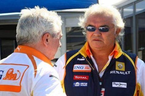 Pat Symonds und Flavio Briatore haben sich offenbar mit der FIA geeinigt