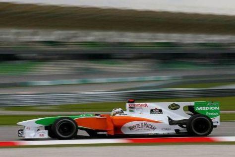 Adrian Sutil peilt für das China-Rennwochenende weitere Punkte an