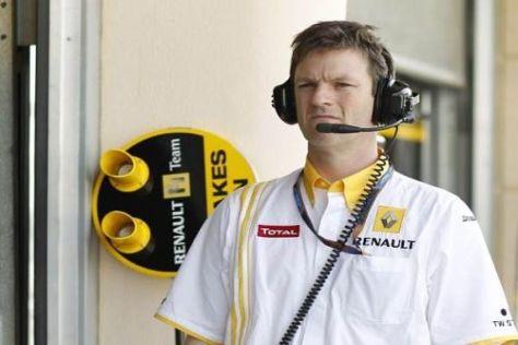 Renault-Technikchef James Allison ist mit den bisherigen Erfolgen zufrieden