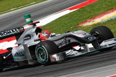 Michael Schumacher soll ab Barcelona mit einem überarbeiteten Auto fahren