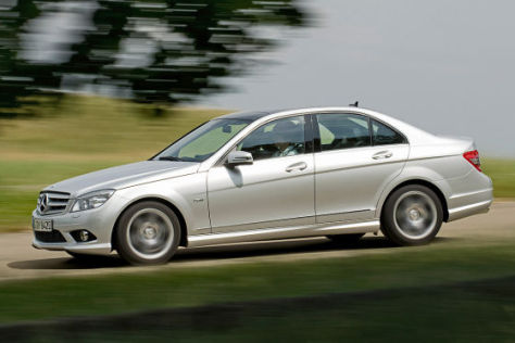 Mercedes C-Klasse C 250 CDI BlueEfficiency