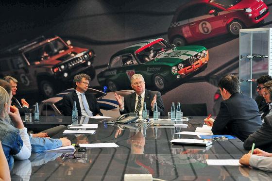 Interview mit Nick Reilly, Opel-Chef und Präsident von GM Europe