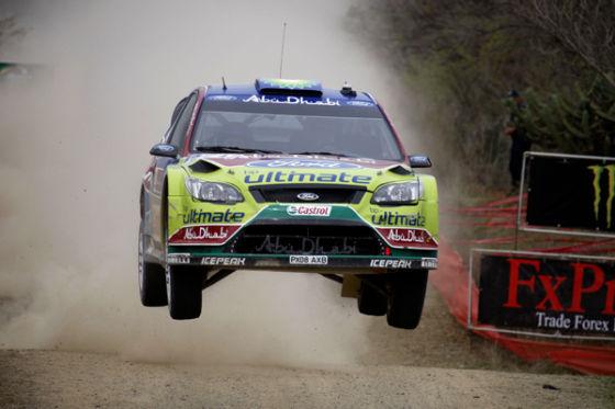 Will hoch hinaus: Jari-Matti Latvala im Ford Focus WRC