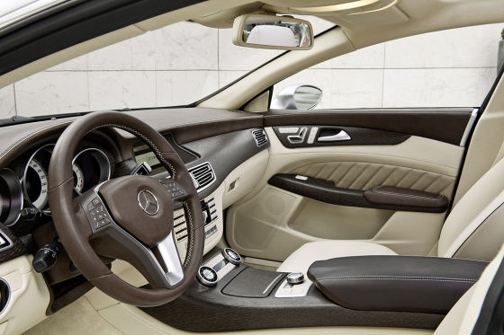Cockpit, Mercedes Concept Shooting Break