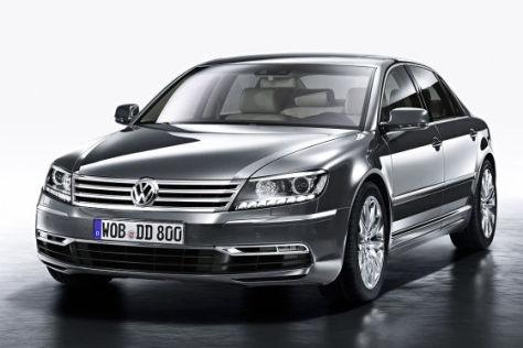 VW Phaeton Facelift auf der Auto China 2010