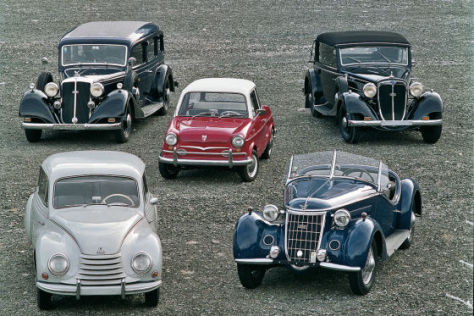 Audi NSU Wanderer Horch DKW