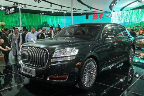 Geely GE auf der Auto China Peking 2010