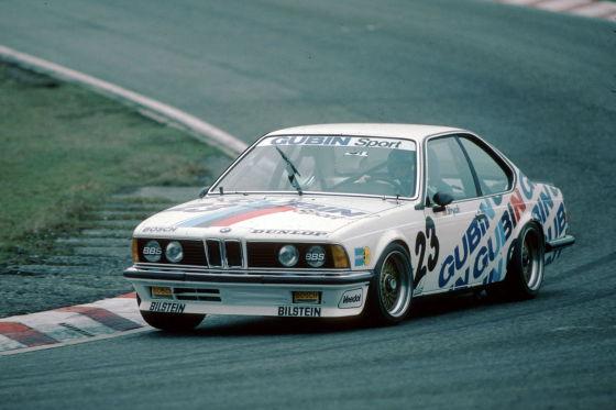 Erster Champion: 1984 wurde Volker Strycek im BMW 635 CSi Champion in der DTM-Vorgängerserie Deutsche Produktionswagen-Meisterschaft.