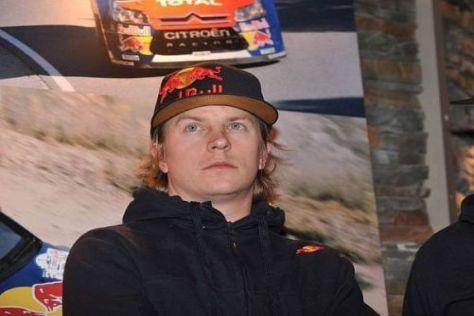Kimi Räikkönen geht davon aus, dass im die Türkei-Rallye etwas leichter fällt