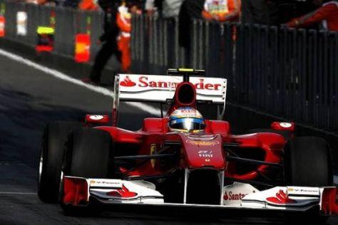 Fernando Alonso ist zufrieden, der Motorschaden am Morgen störte ihn kaum