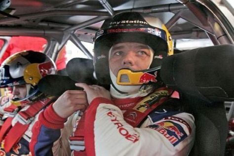 Sébastien Loeb holte sich zum Abschluss des Freitags noch eine Bestzeit