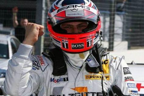 Strahlender Brite: Gary Paffett sicherte Mercedes die 99. Pole in der DTM