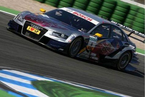 Martin Tomczyk stellte seinen Audi A4 DTM zum Auftakt in die erste Reihe