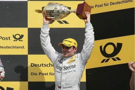Jamie Green fuhr als bester Jahreswagen-Pilot auf den dritten Platz