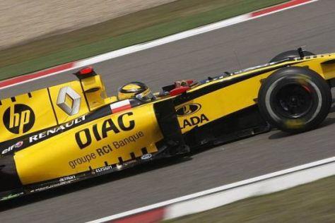 Robert Kubica und Renault halten die Rennreifen für den Schlüssel zum Erfolg