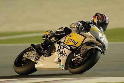 Hiroshi Aoyama wurde bei seinem MotoGP-Debüt in Katar Zehnter