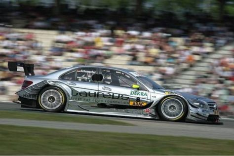 Ralf Schumacher kam in Hockenheim der neunten Endposition über die Ziellinie