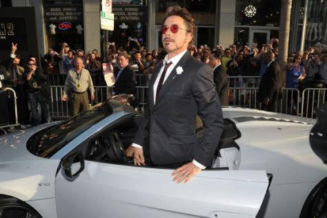 Audi R8 Spyder im Film Iron Man