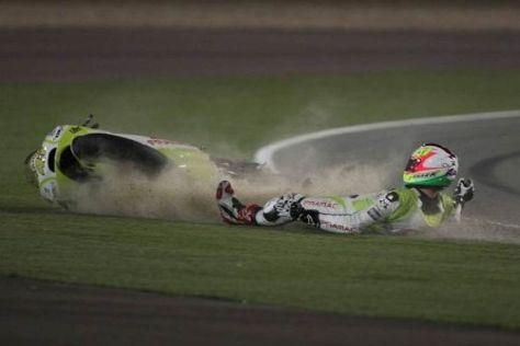 Aleix Espargaró kam beim Saisonauftakt in Katar nicht ins Ziel