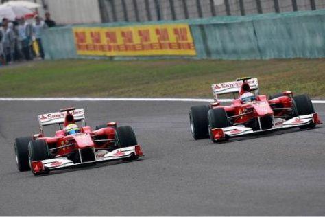 Felipe Massa und Fernando Alonso wollen ab Barcelona ganz vorne fahren