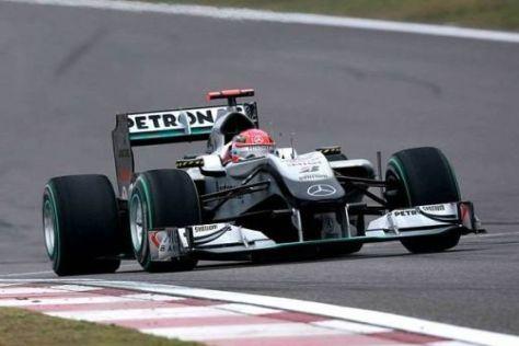 Michael Schumacher will ab dem kommenden Rennen weiter vorne fahren