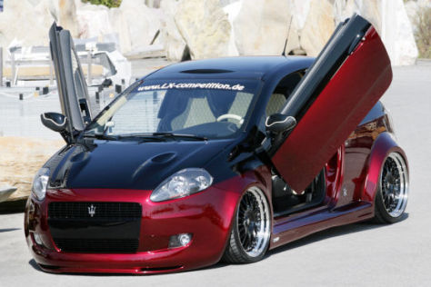 Getunter Fiat Grande Punto