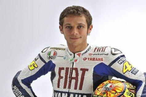 Valentino Rossi hatte am Freitag mit Schmerzen in der Schulter zu kämpfen