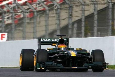 Das Lotus-Team ist nach den ersten vier Rennen der beste Neuling