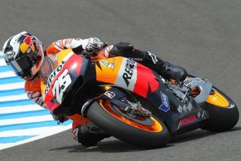 Dani Pedrosa bildet sich auf seine Pole-Position in Jerez nichts ein