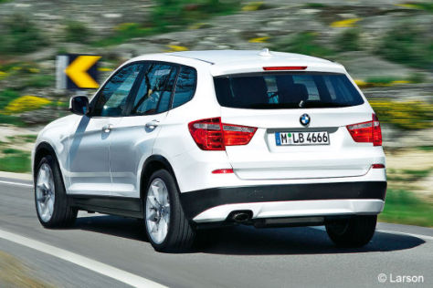 BMW X3 Illustration