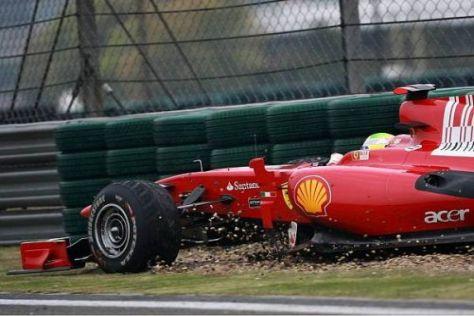 Felipe Massa auf Abwegen: Wird er 2011 bei Ferrari durch Robert Kubica ersetzt?