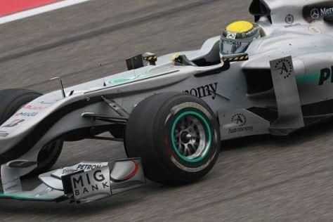 Nico Rosberg will den Silberpfeil bald zu einem waschechten Siegerauto machen