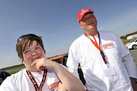 Maureen Thielmann-Ludwichowski und Jens Stüben