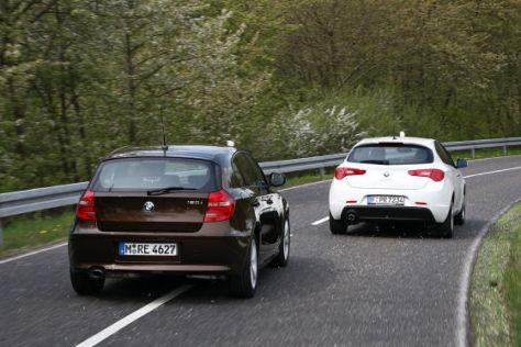 Alfa Giulietta BMW 1er