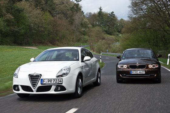 BMW er Alfa Giulietta