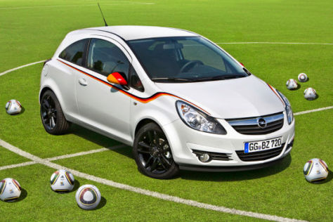Opel Corsa Fußball-Weltmeisterschafts-Edition