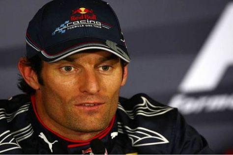 Mark Webber war im heutigen Qualifying einfach nicht zu schlagen