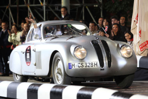 Mille Miglia 2010 BMW 328 Coupé