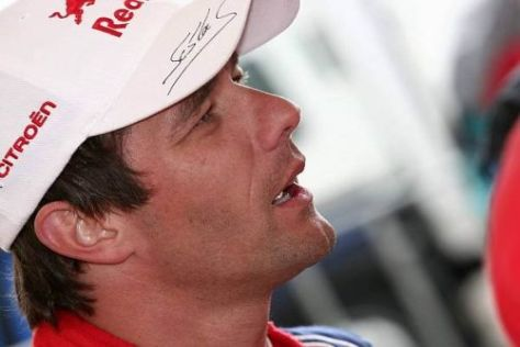 Sébastien Loeb rettete nach einigen Turbulenzen den dritten Platz