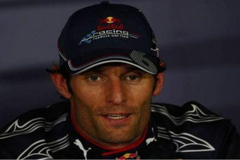 Mark Webber hat nach dem Sieg in Barcelona allen Grund zum Strahlen