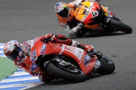 Honda ist offensichtlich hinter Casey Stoner her - Ducati will ihn behalten