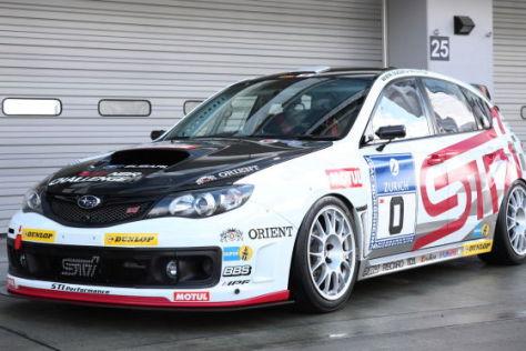 Subaru WRX STI für die Rundstrecke