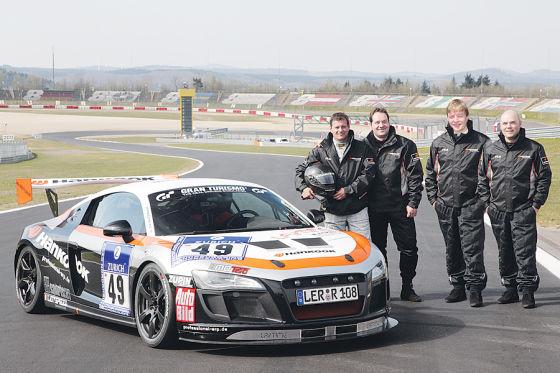 Audi R8 Sportscars 24h-Rennen Projektauto