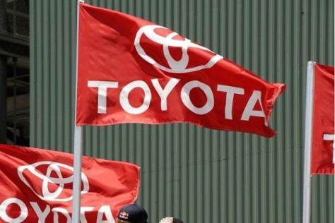 Weht die Toyota-Fahne bald im Fahrerlager der DTM? Interesse besteht offenbar...