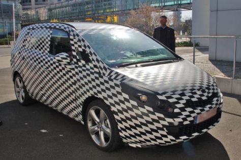 Erlkönig Opel Zafira C (2010)