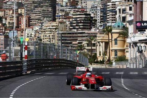 Fernando Alonso fuhr gestern in beiden Trainingssessions Bestzeit