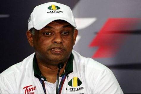 Tony Fernandes lobt die Arbeit seines Formel-1-Teams